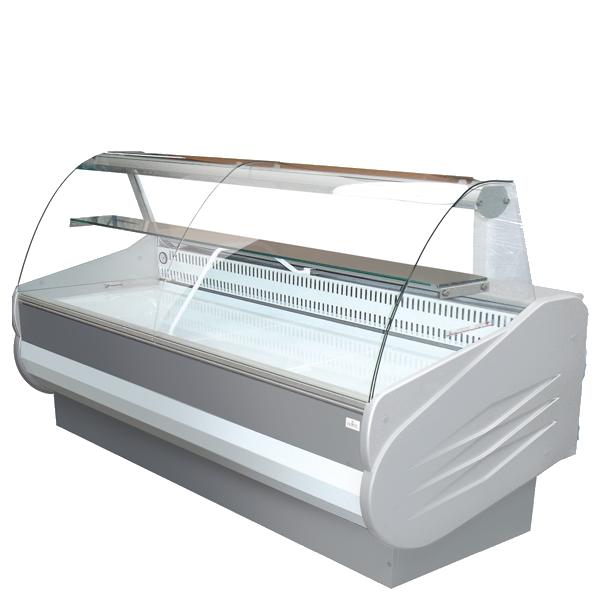Caractéristique de la vitrine réfrigérée de comptoir