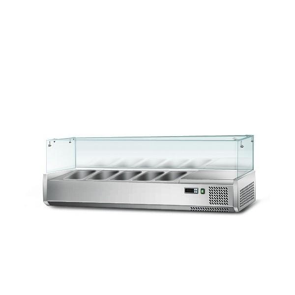 Caractéristique de la vitrine réfrigérante sala dette