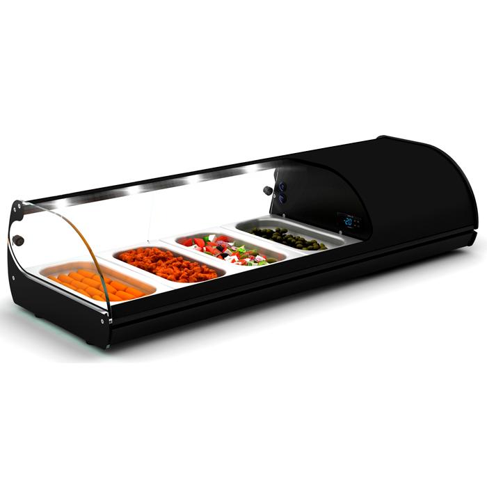 sushi display case